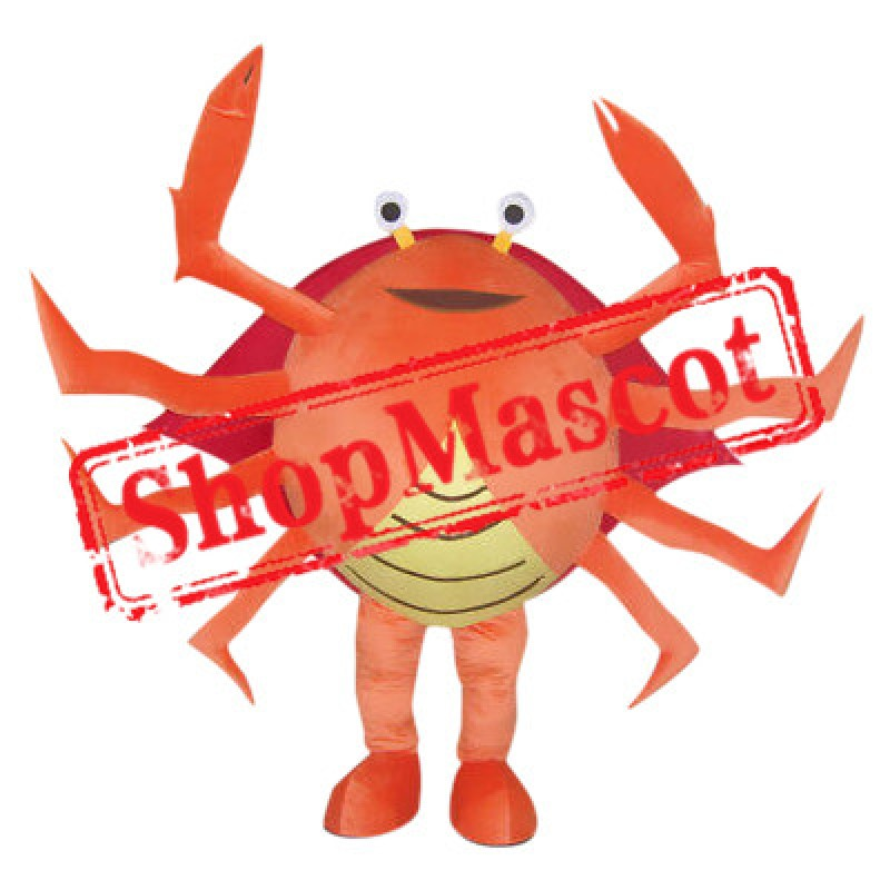 Affordable Crab Mascot Costume