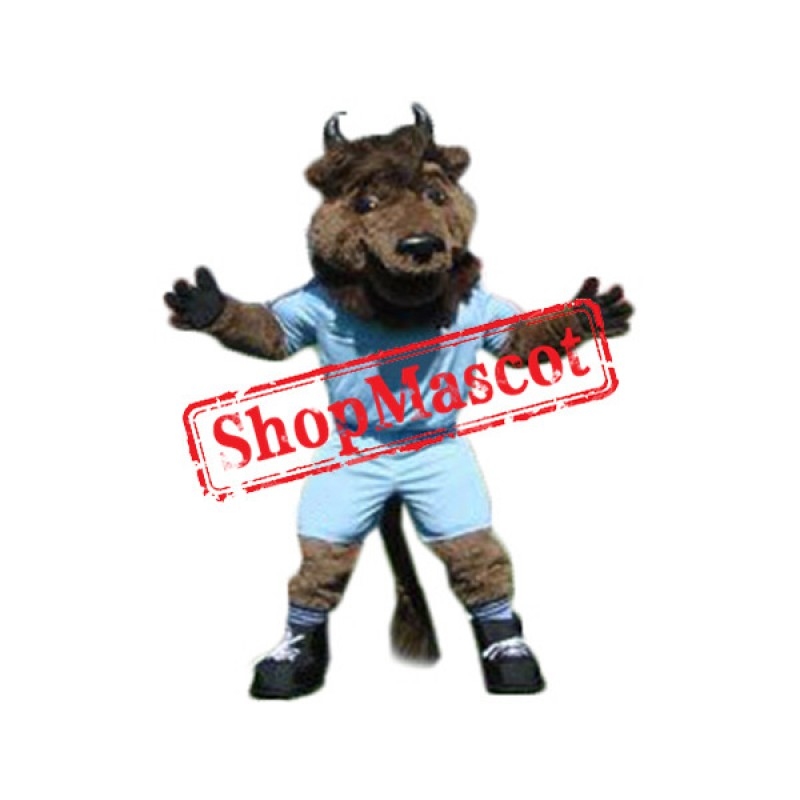 College Bison Mascot Costume
