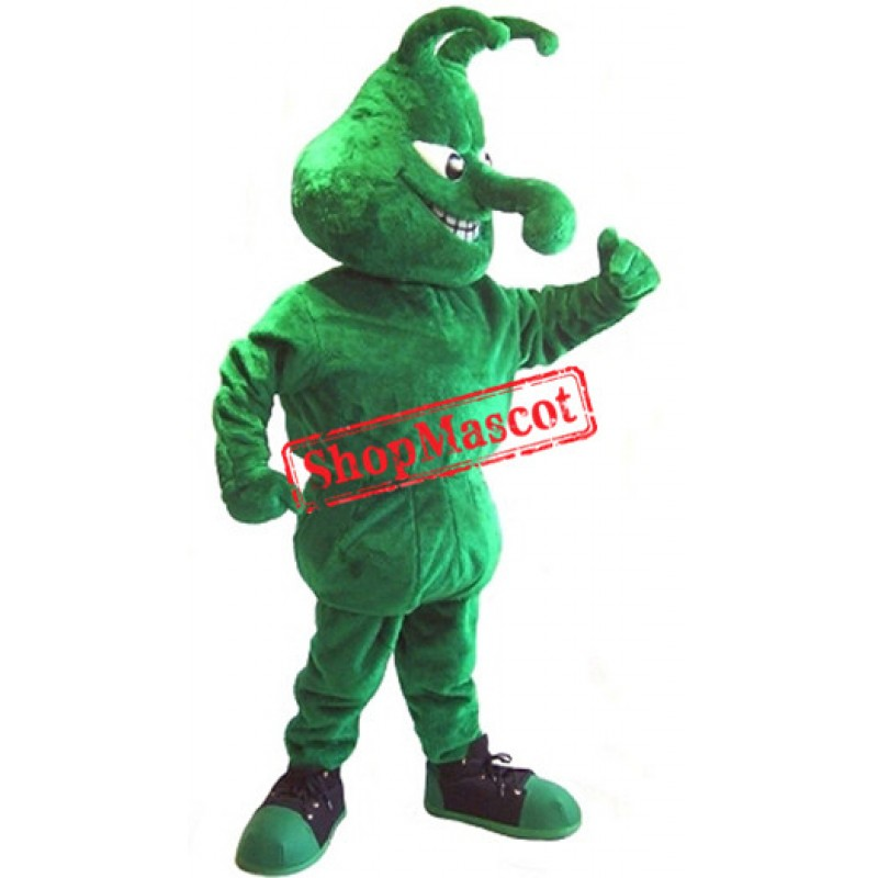 Green Boll Weevils Mascot Costume