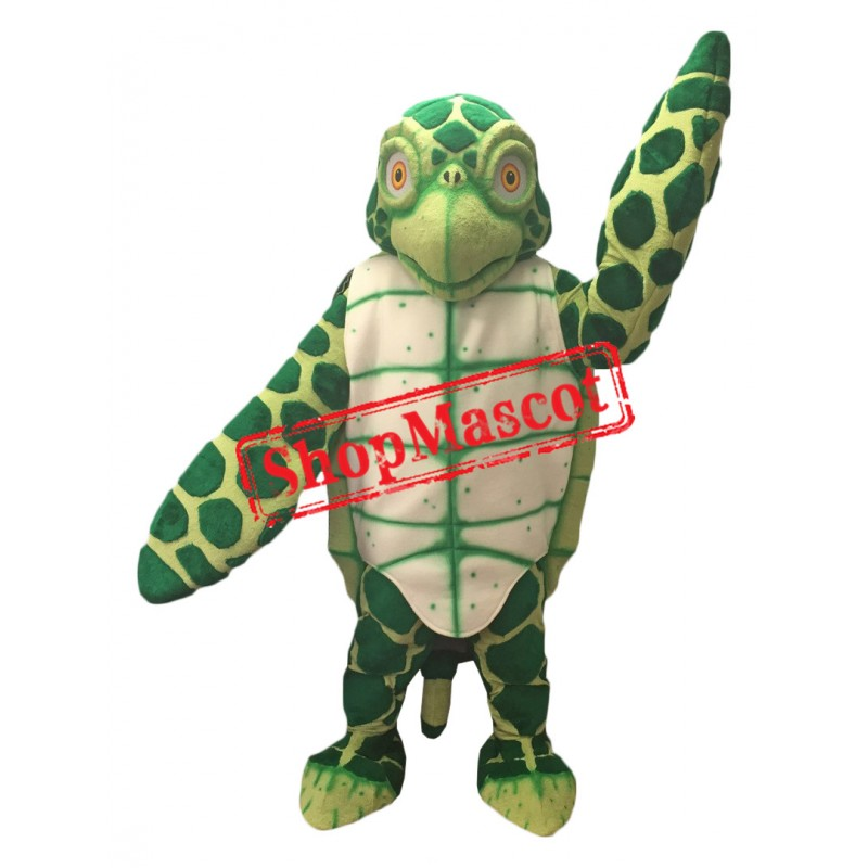 Superb Sea Turtle Mascot Costume