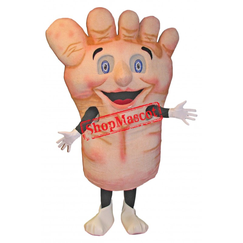 Superb Foot Mascot Costume