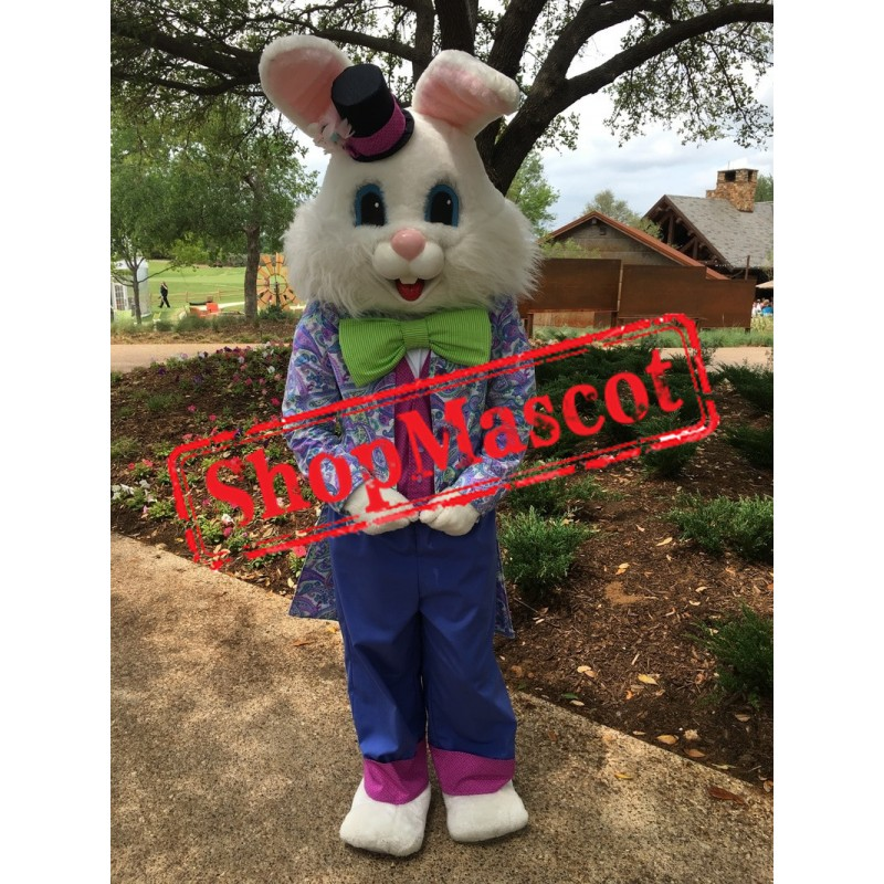 Friendly Lightweight Easter Bunny Mascot Costume
