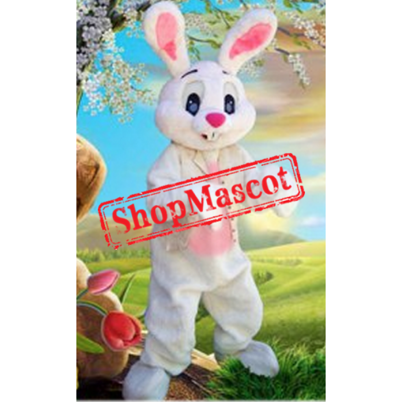 Cute Lightweight Easter Bunny Mascot Costume