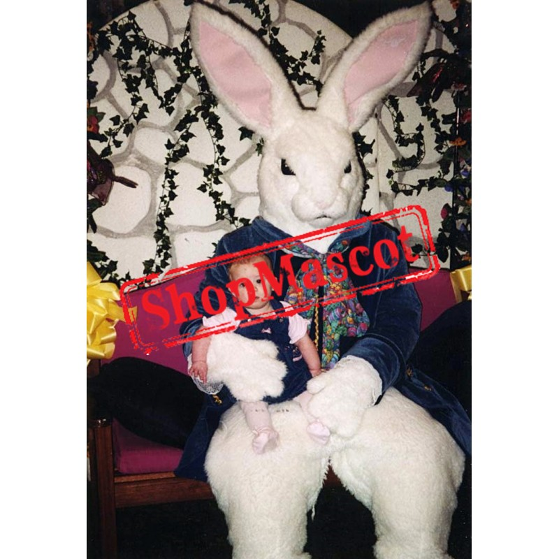 Scary Easter Bunny Mascot Costume
