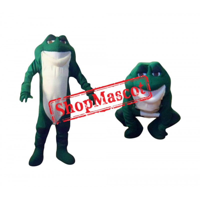New Style Frog Mascot Costume