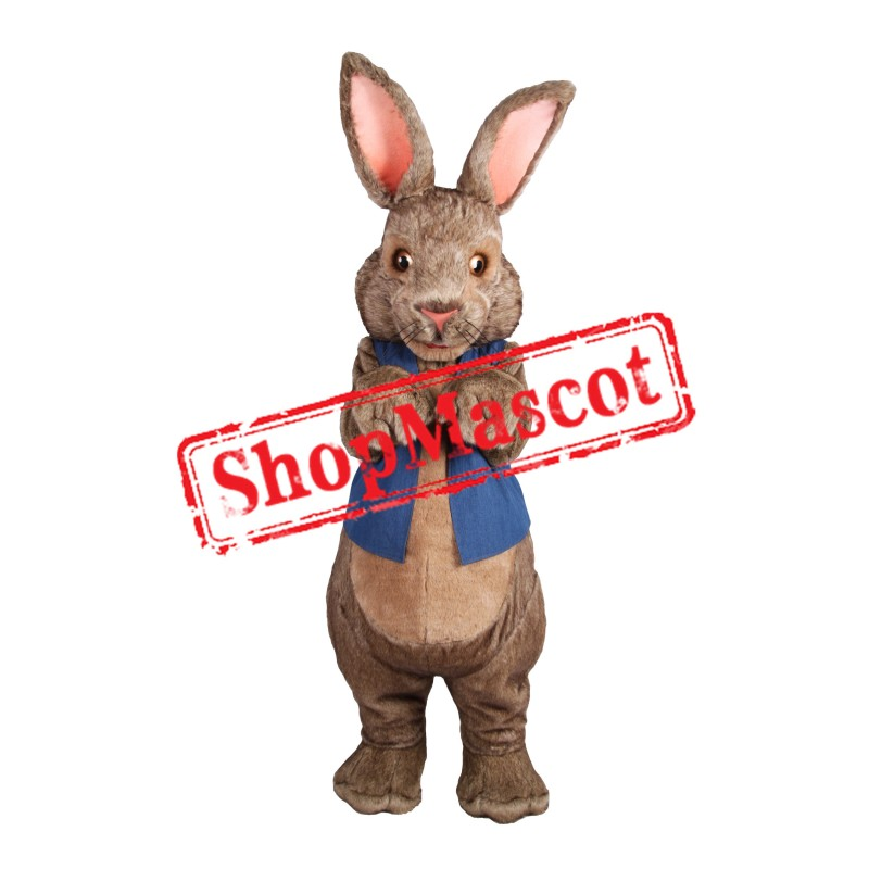 Superb Brown Bunny Rabbit Mascot Costume