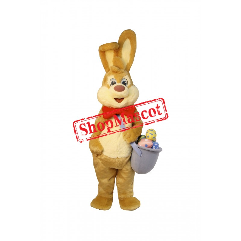 Superb Friendly Easter Bunny Rabbit Mascot Costume