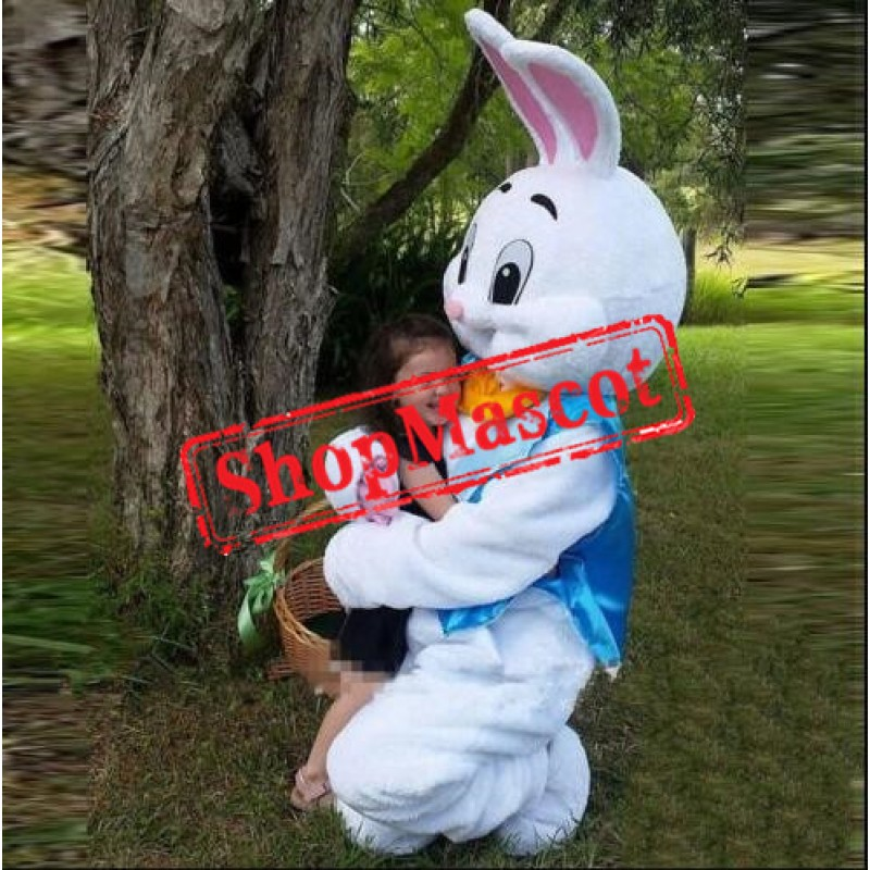 Easter Bunny Mascot Costume Adult Costume US Warehouse In Stock