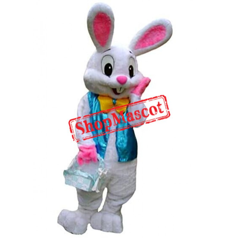 Easter Rabbit Bunny Rabbit Mascot Costume US Warehouse In Stock