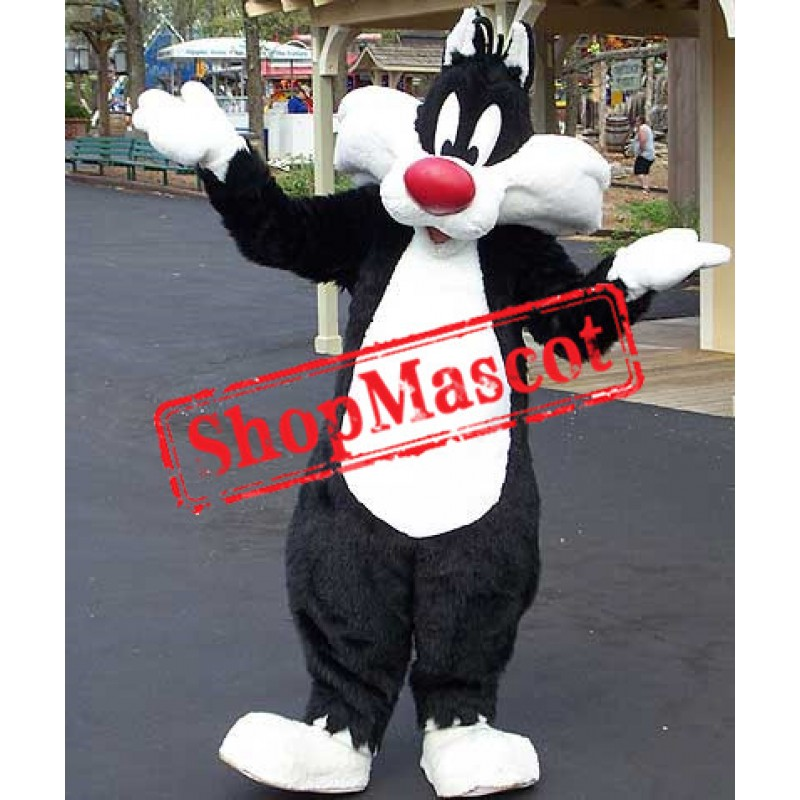 Looney Tunes Deluxe Sylvester The Cat Mascot Costume
