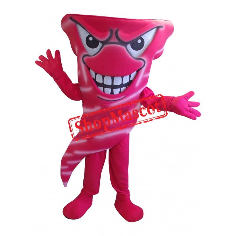 Power Fierce Tornadoes Mascot Costume