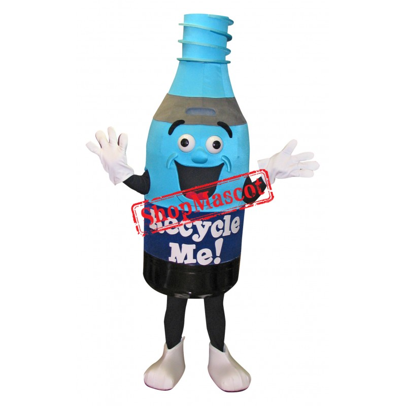 Recycle Me Bottle Mascot Costume