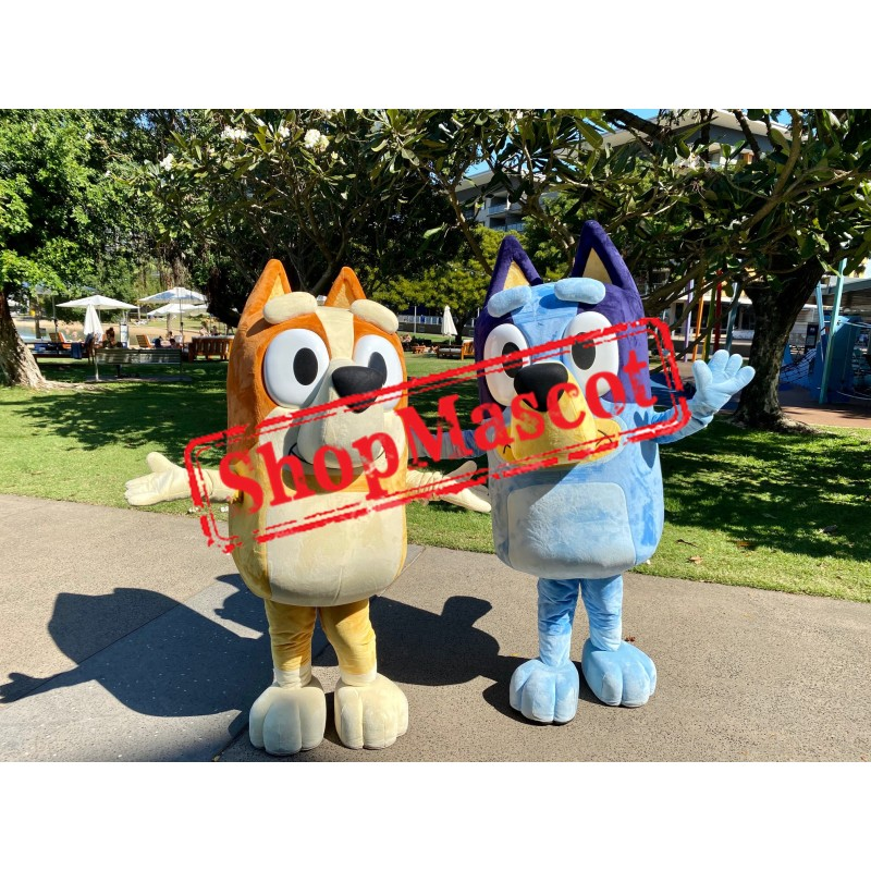 Bluey and Bingo Mascot Costume