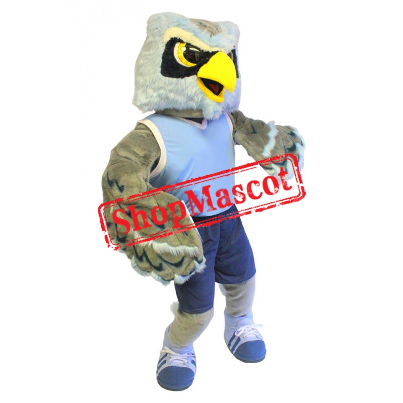 Power Sport Owl Mascot Costume