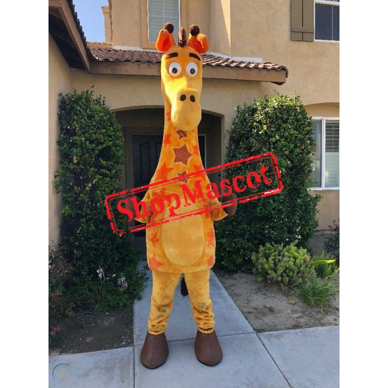Superb Cute Giraffe Mascot Costume
