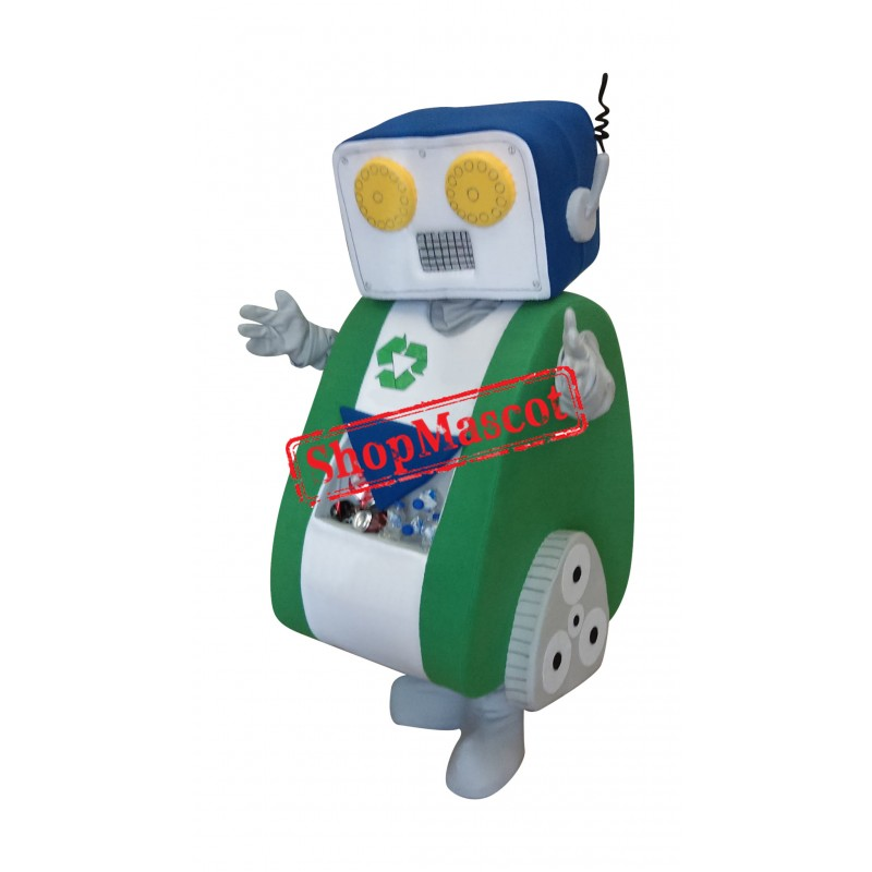 Recycling Robot Mascot Costume