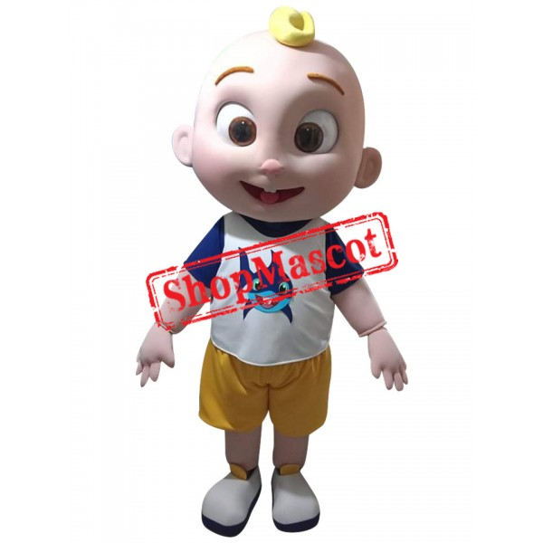 Lovely Cocomelon JJ Baby Mascot Costume