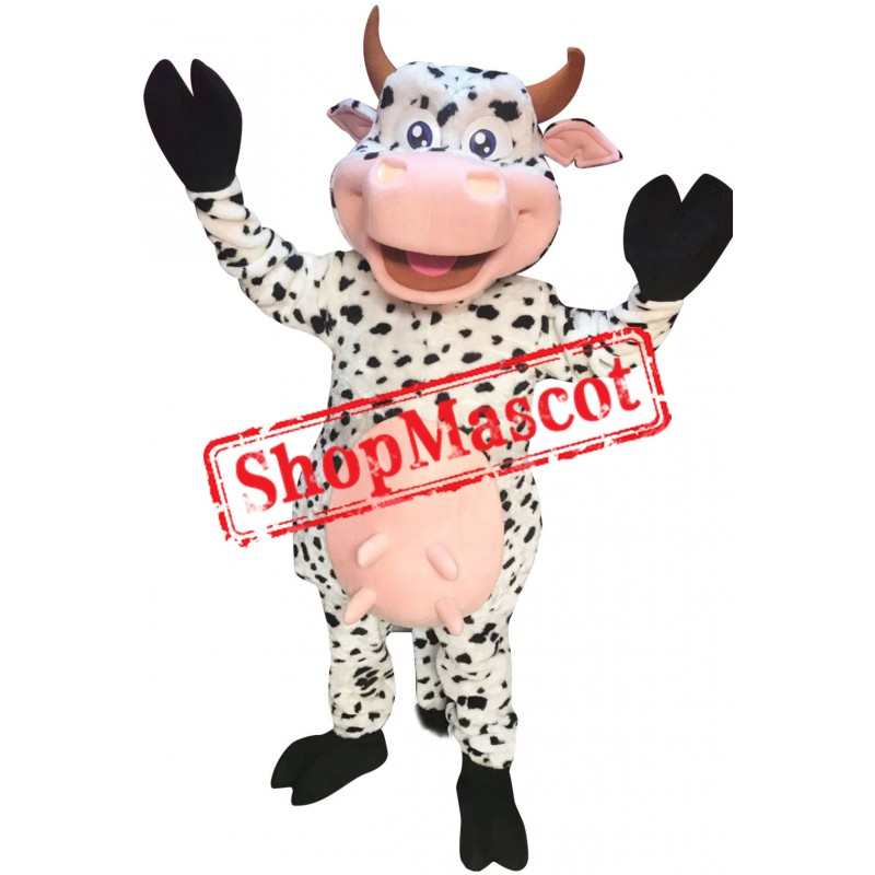 Lovely Cow Mascot Costume