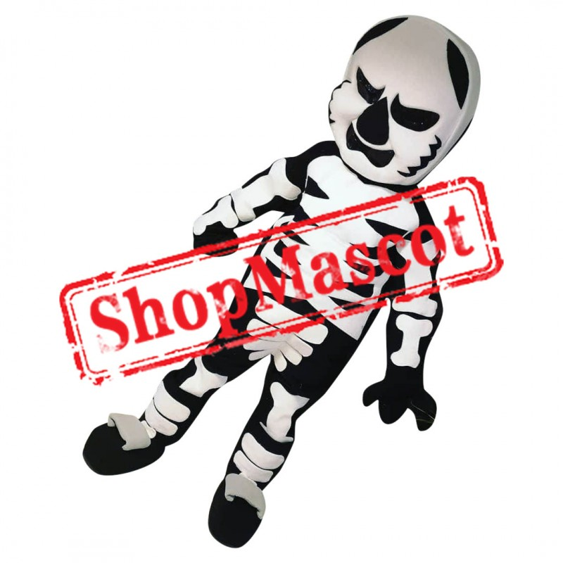 Skull Trooper Fortnite Mascot Costume