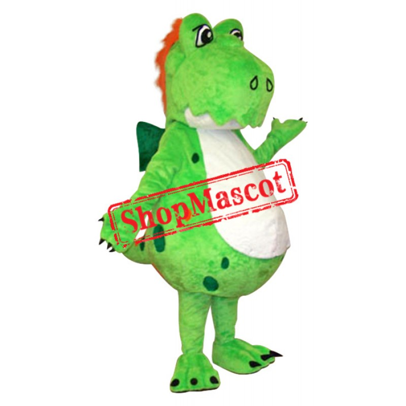 Superb Dinosaur Mascot Costume