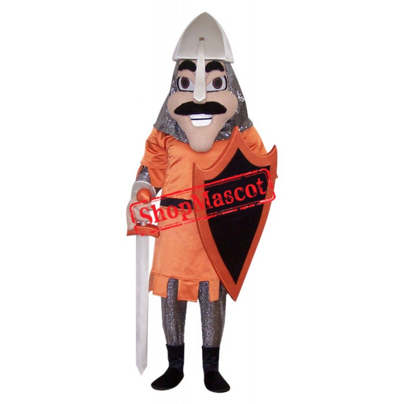 Happy Light Knight Mascot Costume