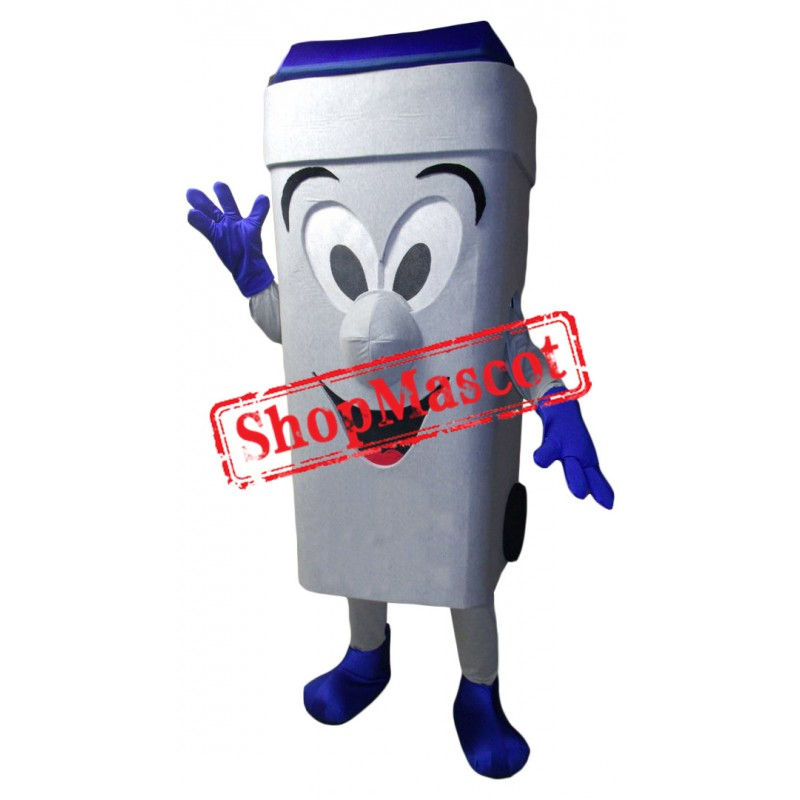 Happy Recycling Bin Mascot Costume