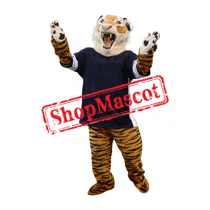 Sport Fierce Tiger Mascot Costume