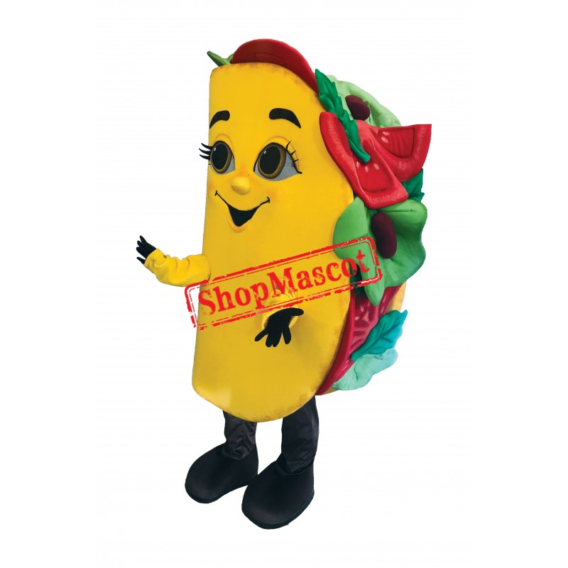 Superb Taco Mascot Costume