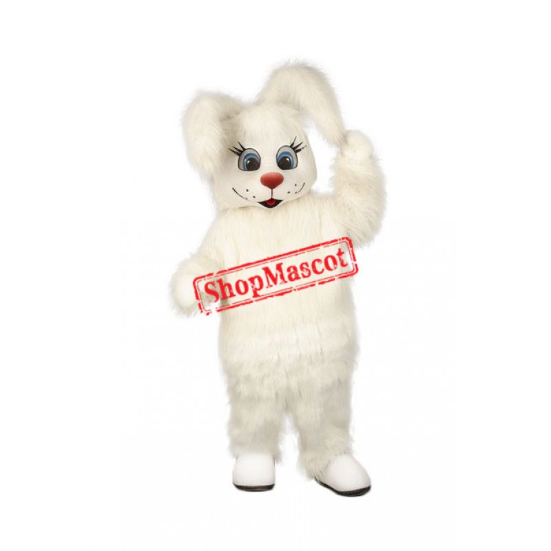 Superb Friendly Easter Bunny Mascot Costume