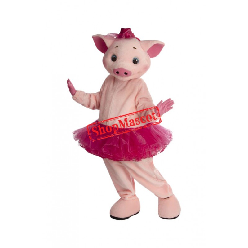 Beautiful Lightweight Pink Pig Mascot Costume