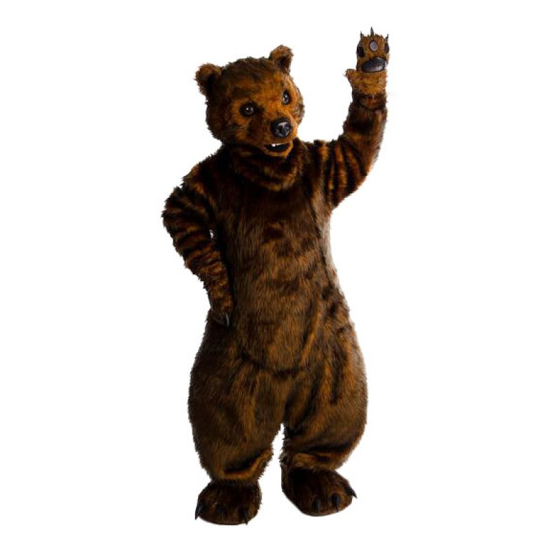 Superb Lightweight Fierce Bear Mascot Costume