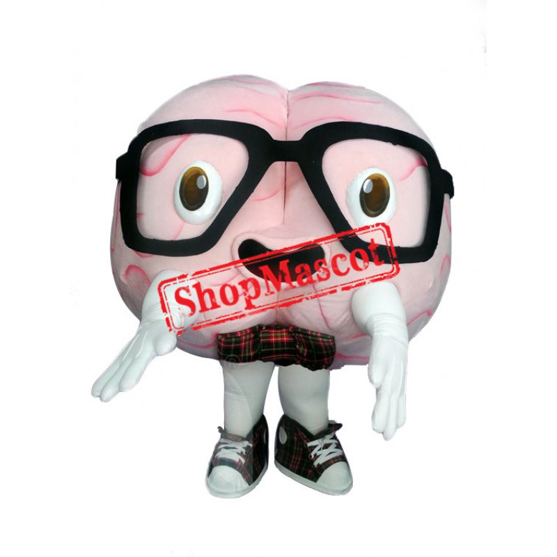 Superb Brain Mascot Costume