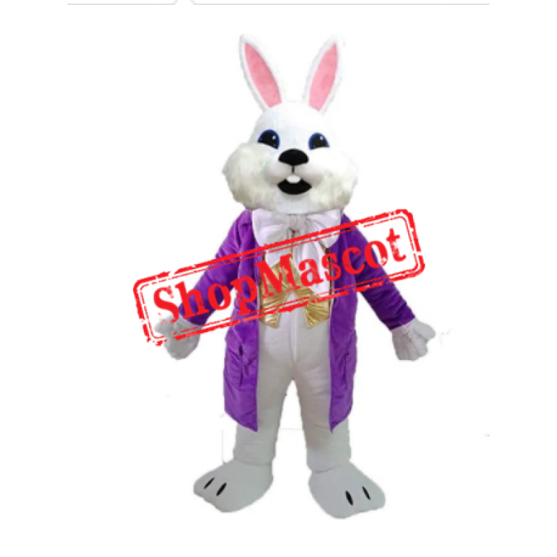 Affordable Adult Easter Bunny Mascot Costume
