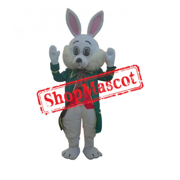 Lovely Adult Easter Bunny Mascot Costume