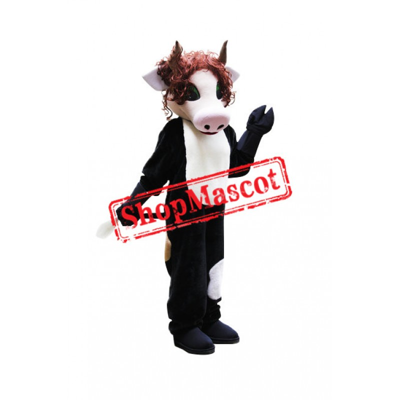 Fashion Cow Mascot Costume