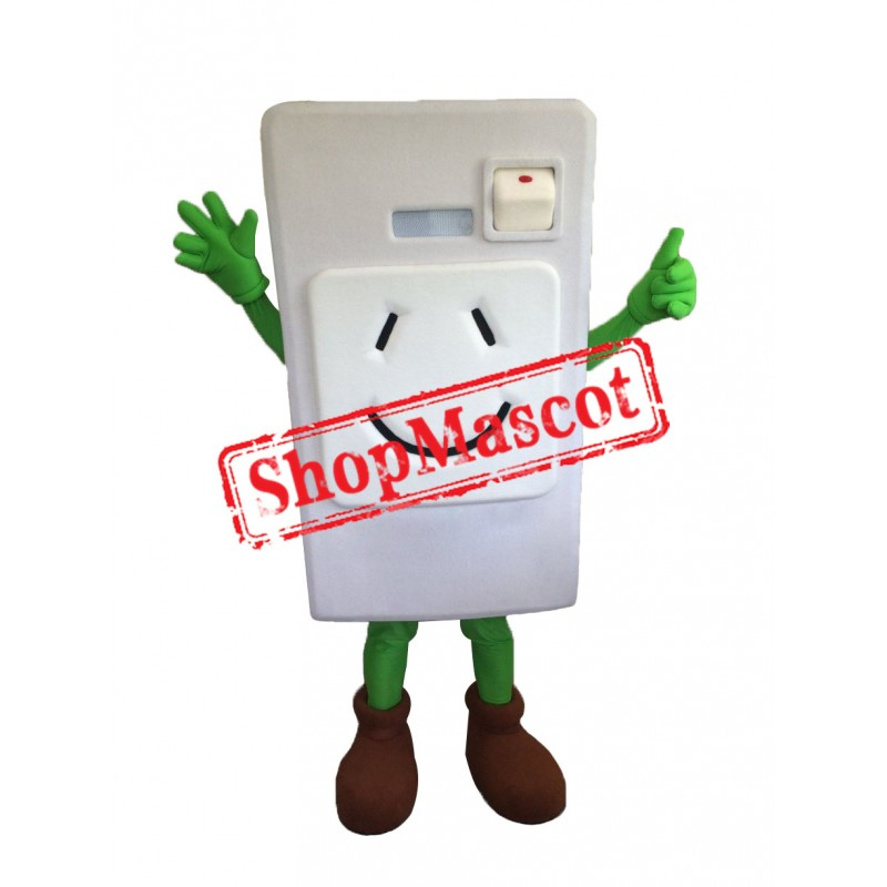Electrical Switches Mascot Costume