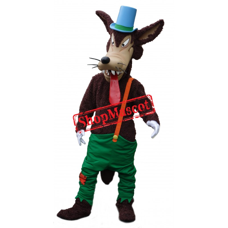 Big Bad Wolf Mascot Costume