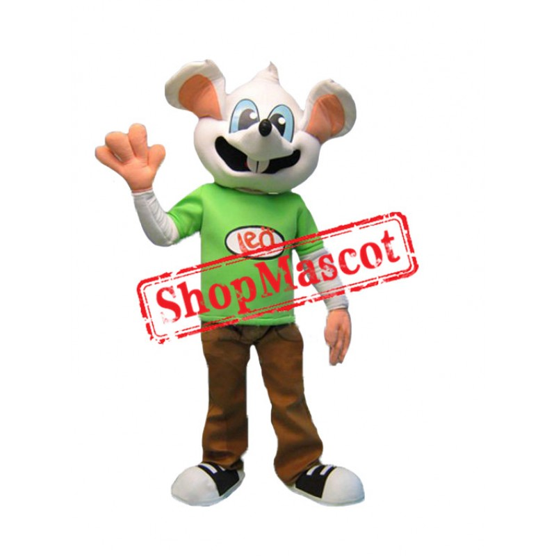 Superb College Mouse Mascot Costume