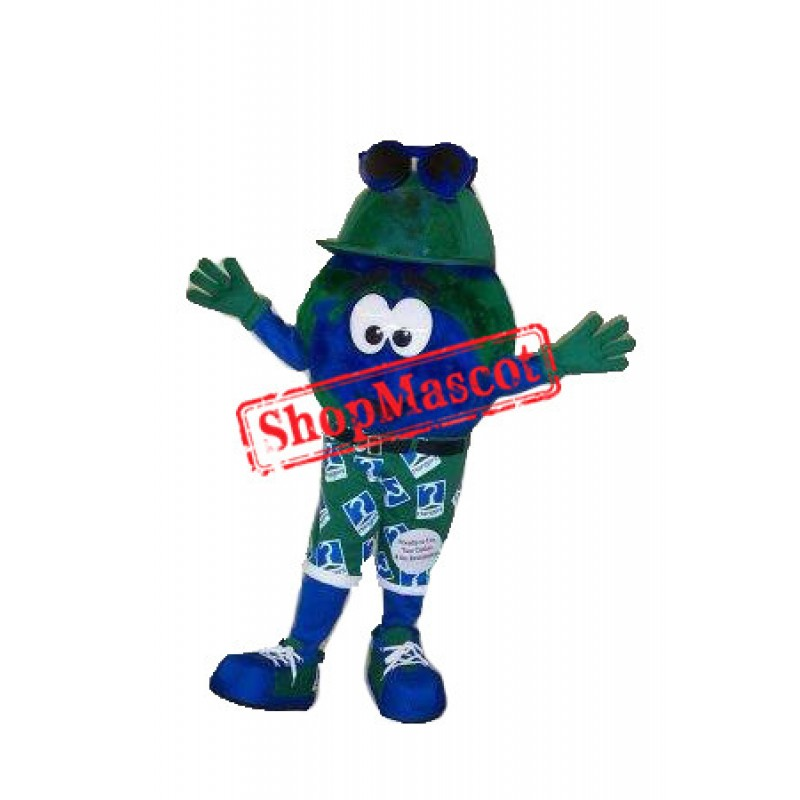 Happy Earth Mascot Costume