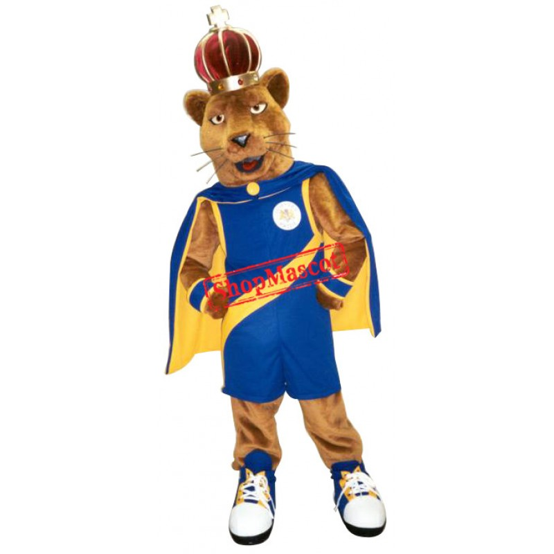 Sport King Lion Mascot Costume