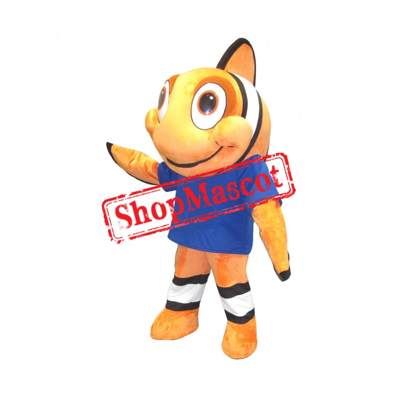 Superb Goldfish Mascot Costume