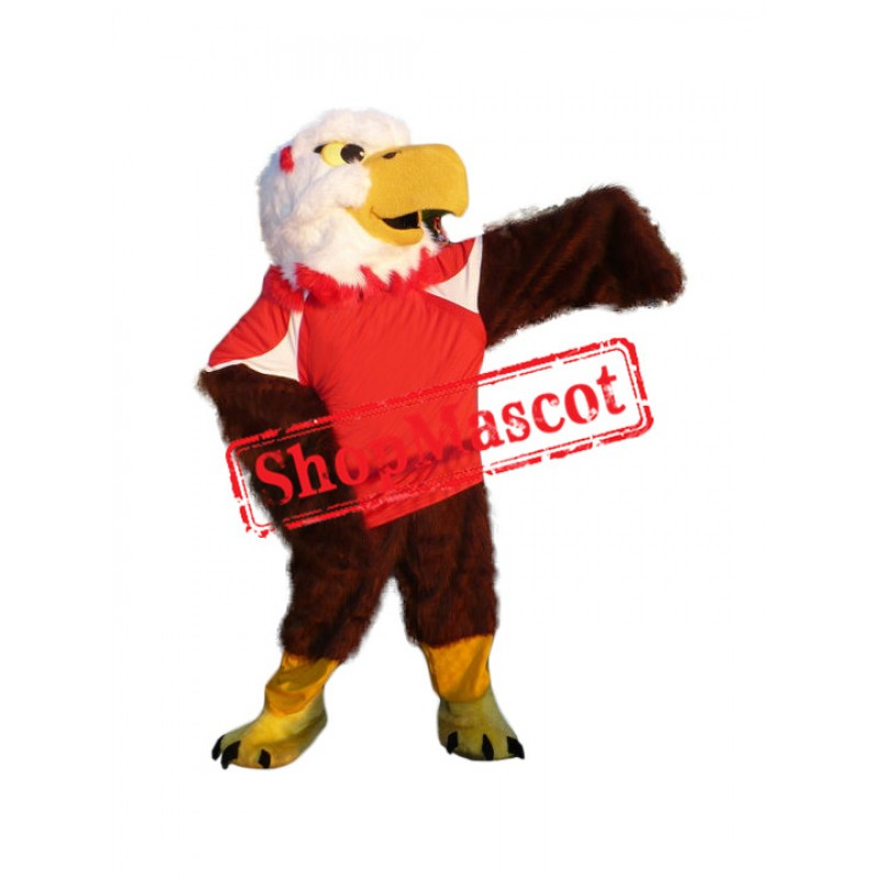 Sport Power Eagle Mascot Costume