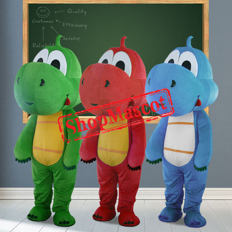 Affordable Cartoon Dinosaur Mascot Costume