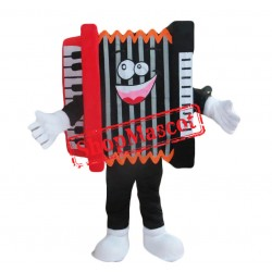Accordion Mascot Costume