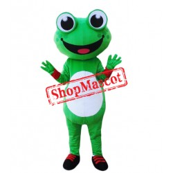 Cheap Cartoon Frog Mascot Costume