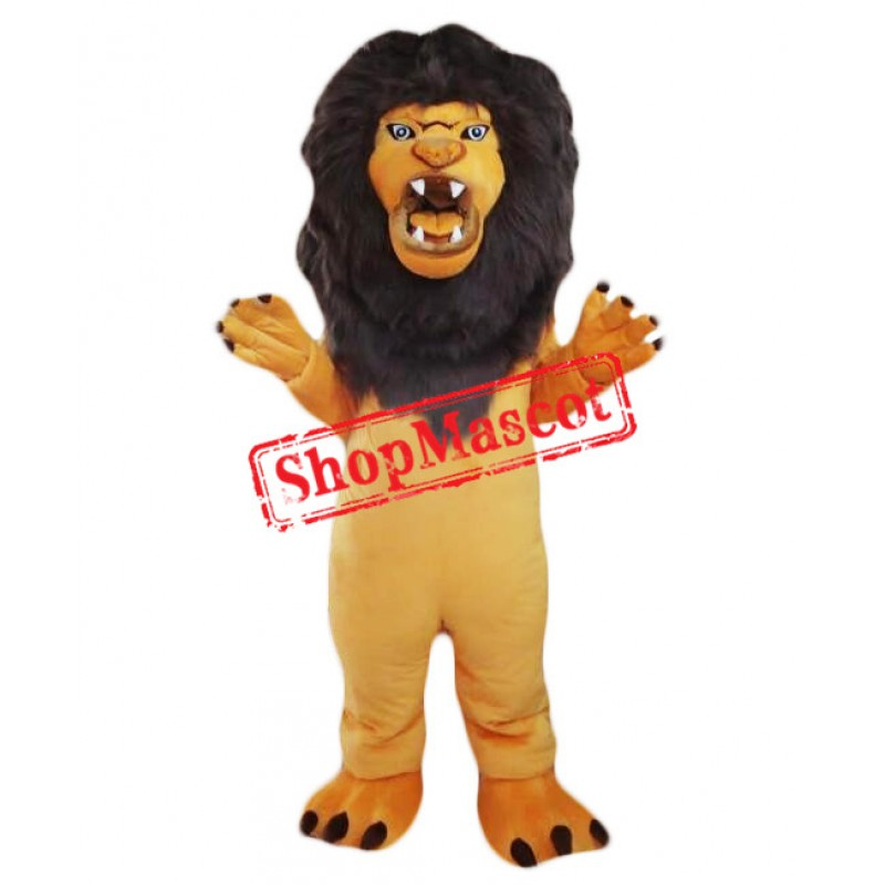 Angry Lion Mascot Costume