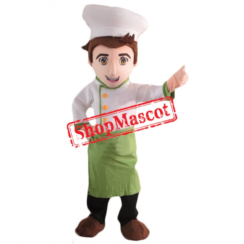 Professional Chef Mascot Costume