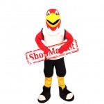 College Red Eagle Mascot Costume