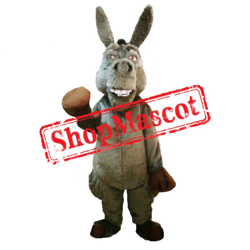 Lovely Lightweight Donkey Mascot Costume