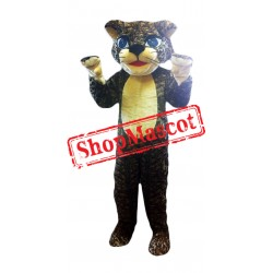 Super Cute Leopard Mascot Costume